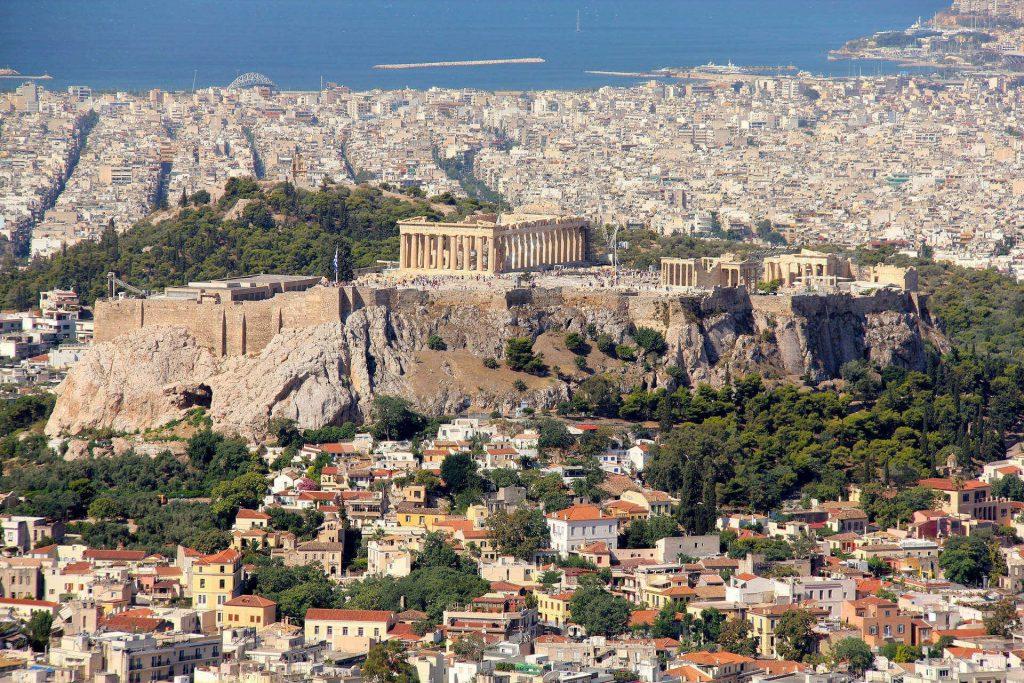 City trips autumn - The Acropolis in Athens.
