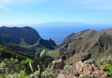 Wandern auf La Gomera, die zweitkleinste der Kanarischen Inseln.