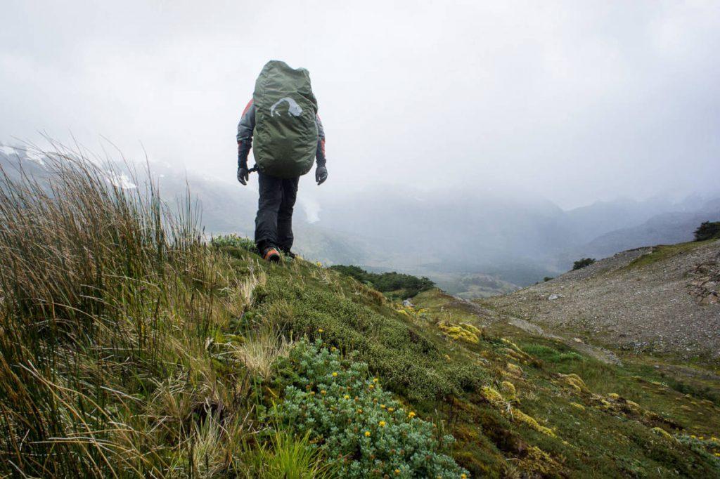 Trekking Feuerland: Wechselndes Wetter machte den Teilnehmern zu schaffen.