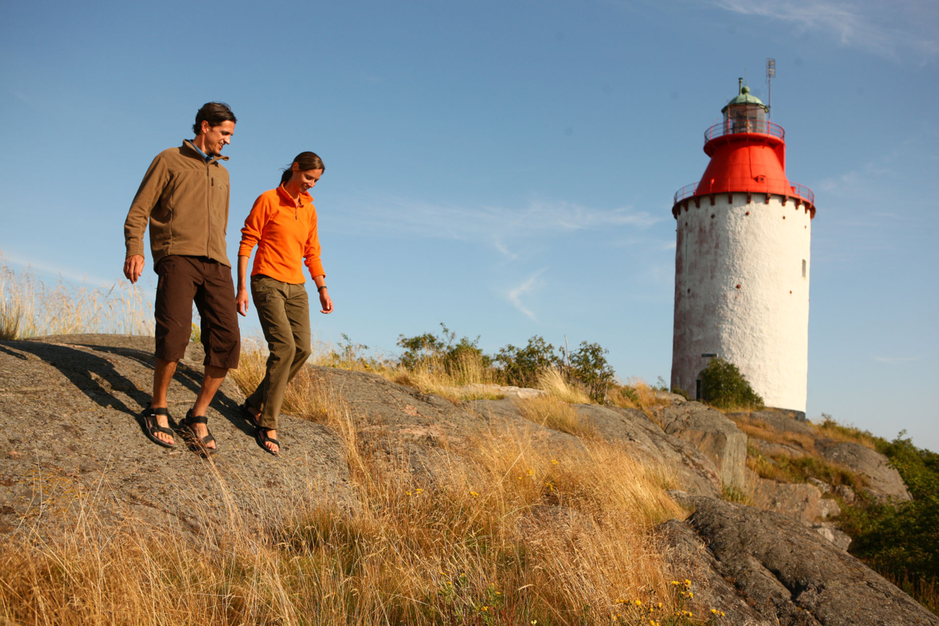Der Naturparkweg in Schleswig-Holstein bietet herrliche Aussichten auf während der Wanderungen