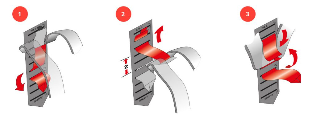 Das Tatonka Leitersystem richtig einstellen. So gehts.