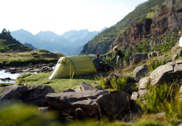 In order to maintain its function for a long time, a tent needs to be maintained.