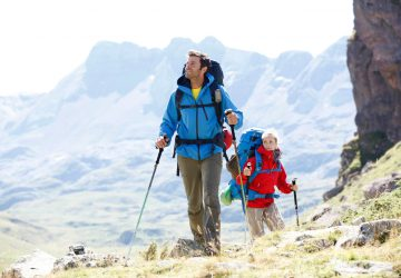 Guide hiking sticks - tips on the use and purchase of trekking poles.