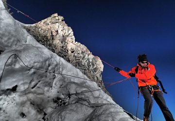 Ascent of the Mont Blanc - On the roof of europe.