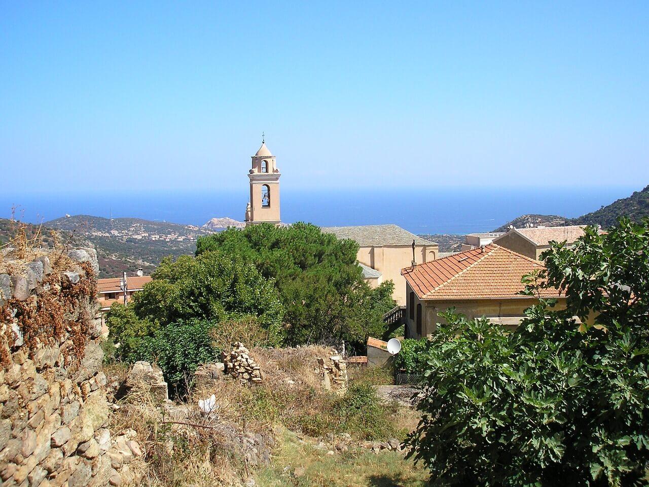 Outdoor paradise Balagne on Corsica.