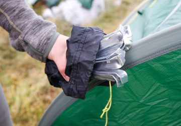 Basics on tent repair - how to repair your Tatonka tent.