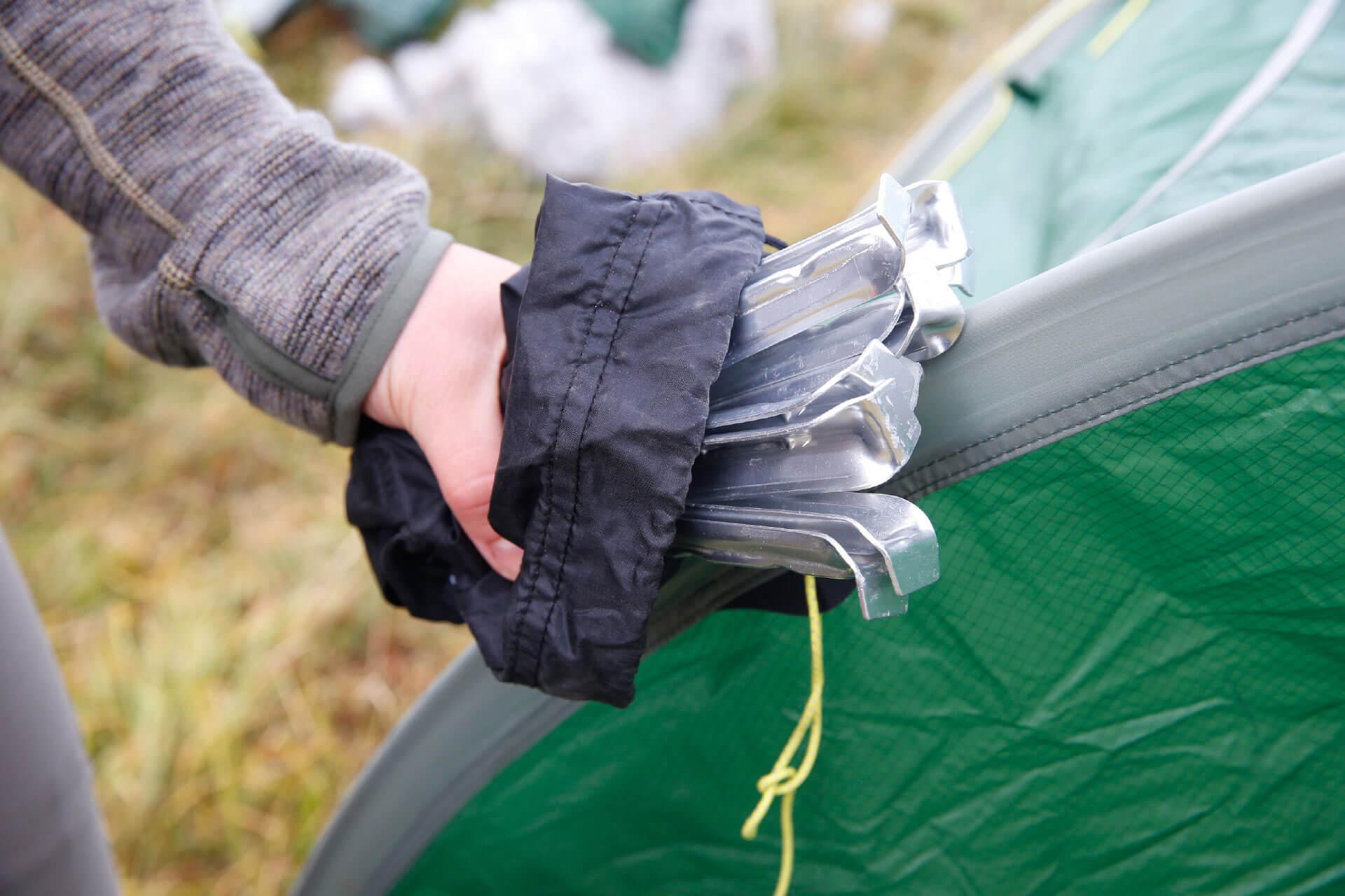 Basiswissen Zeltreparatur - Zelt richtig reparieren.