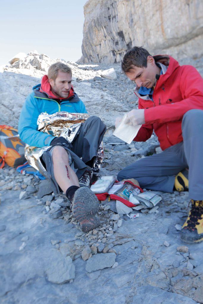 A first aid kit is required for hiking, trekking or climbing!