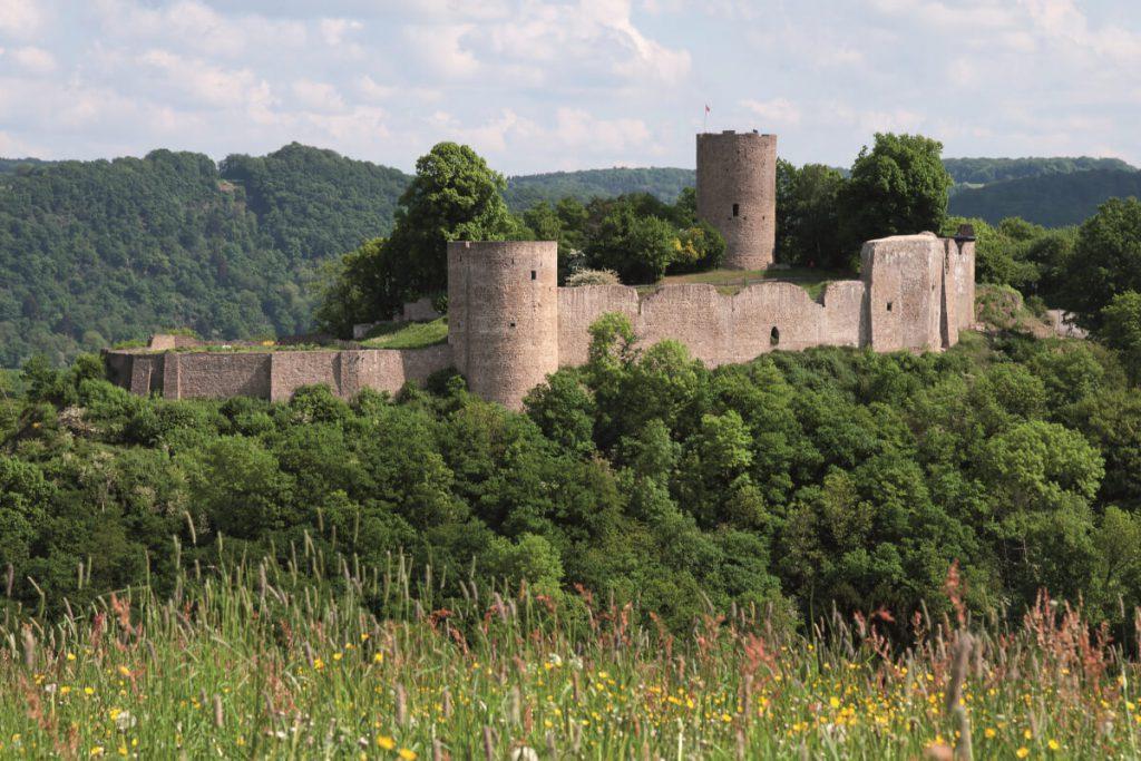 The Blankenberg castle ruins.