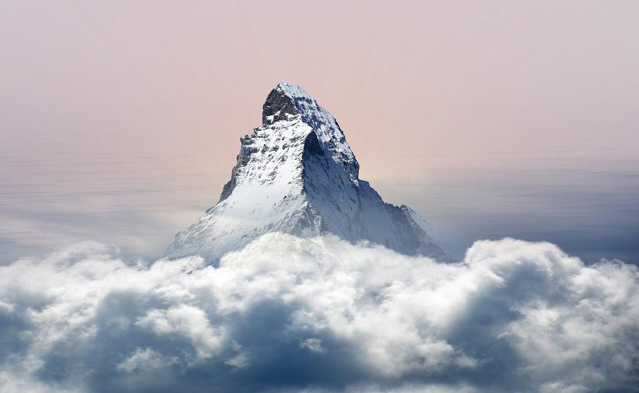 "150 years of the Matterhorn - climbing the ""Horu"". Photo: Marisa04, pixabay."