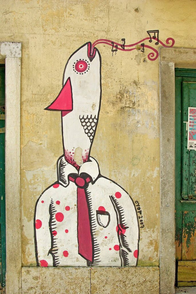 City trip - Street art in the streets of Lisbon. Photo: djedj, pixabay.