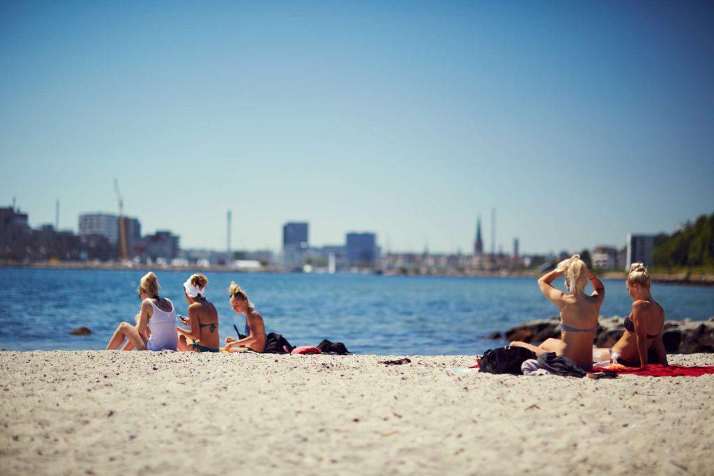 "Strand ""Den Permanente"" bei Riis Skov, Aarhus. © RUNI photopop,visitaarhus.com"