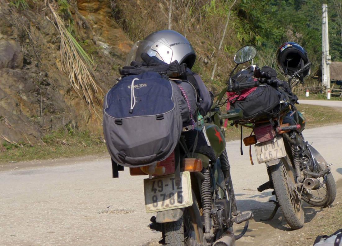Mit dem Motorrad durch Vietnam