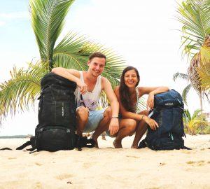 Ania und Daniel von Geh Mal Reisen in Belize.