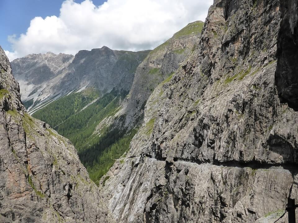 Wandern im Vinschgau - Uinaschlucht mit Steig