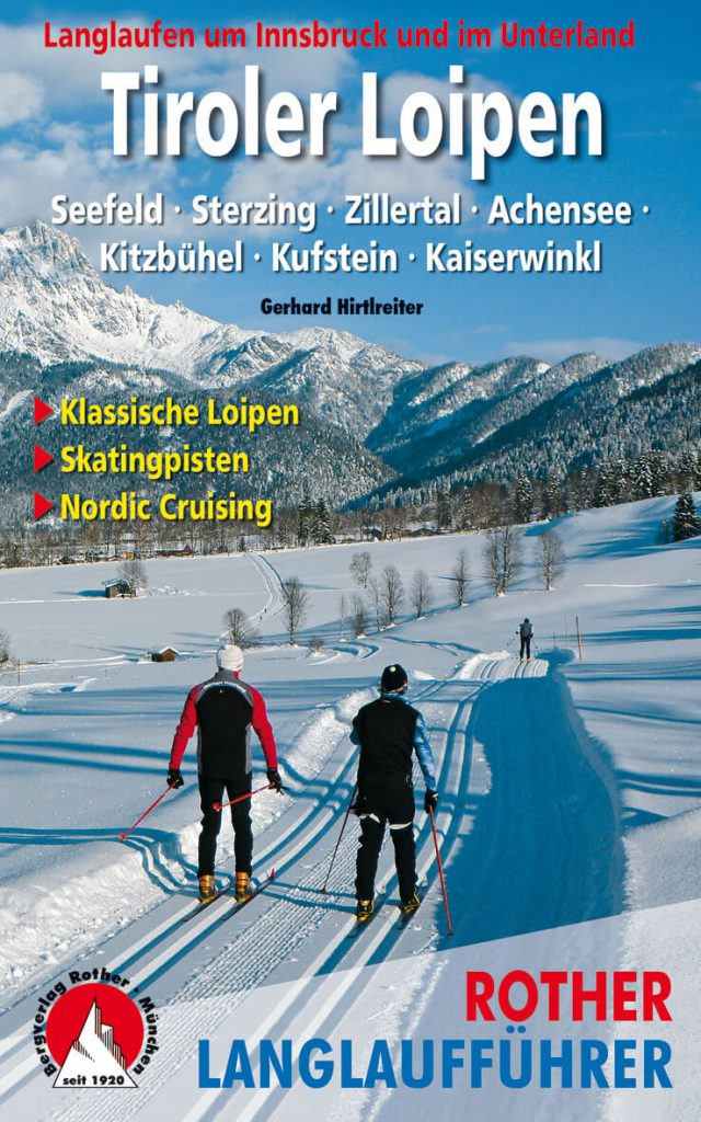 Interview with Bergverlag Rother - cover of the ski tour guide Allgäuer Alpen by Dieter Seibert and Stephan Baur.