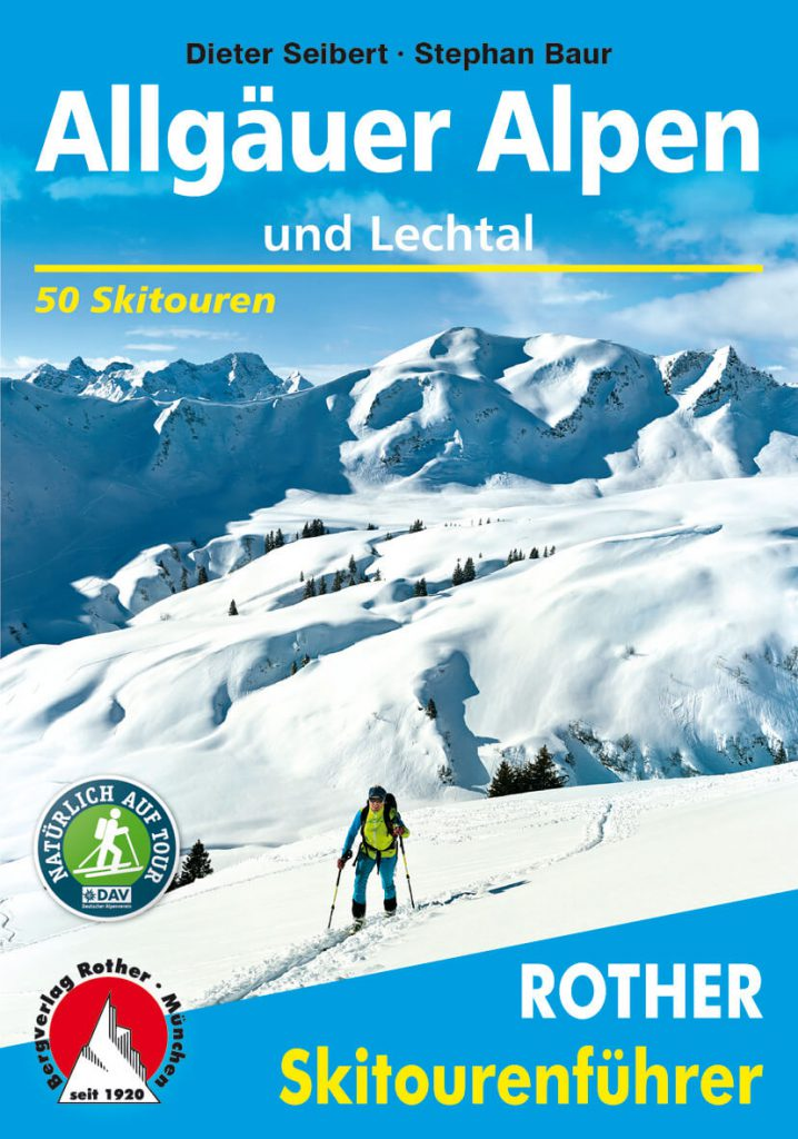 Interview with Bergverlag Rother - Cover of the snowshoe guide Allgäu by Ulf Streubel.