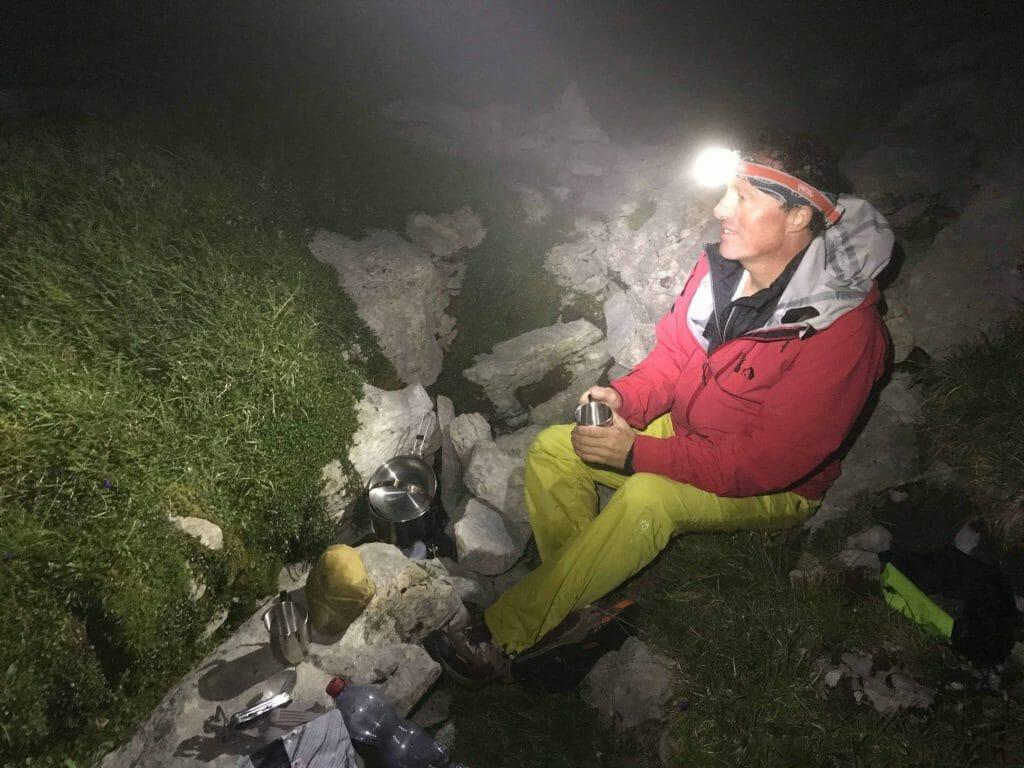 Outdoor-Experte Michael Bösiger gibt Tipps für Biwakieren.