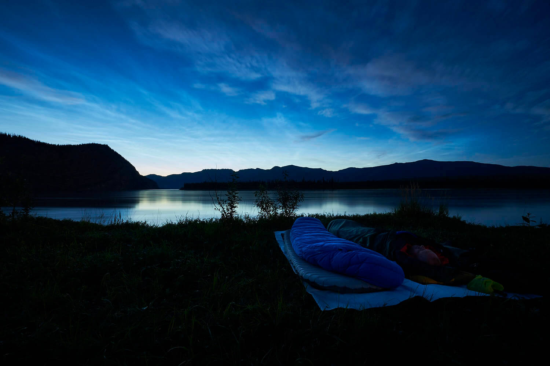 Bivouacking: Sleeping under the stars.