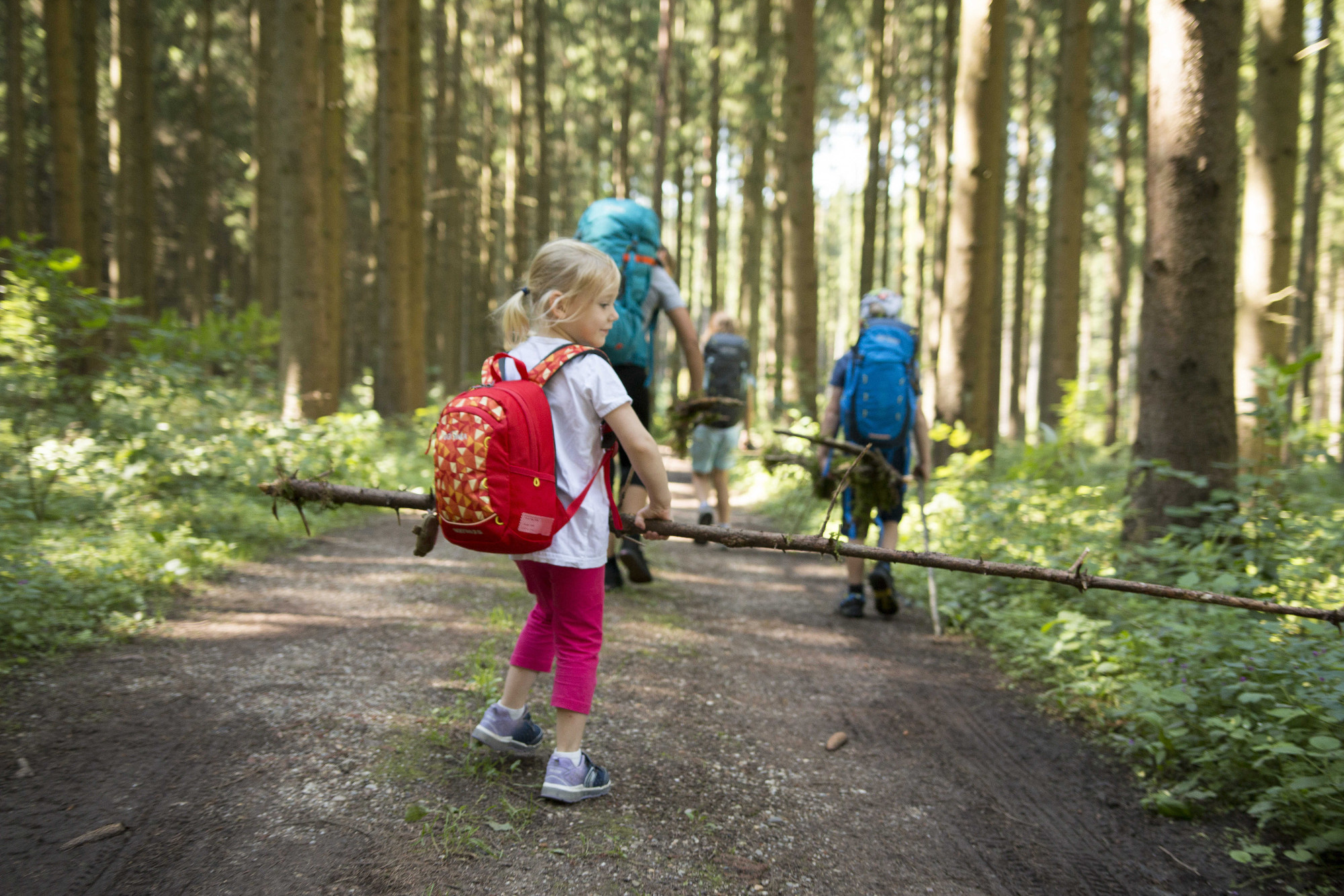 Hiking with children in the Allgäu - Three exciting family tours that become adventures