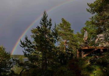 Zelten bei Gewitter - Verhaltensregeln und Tipps