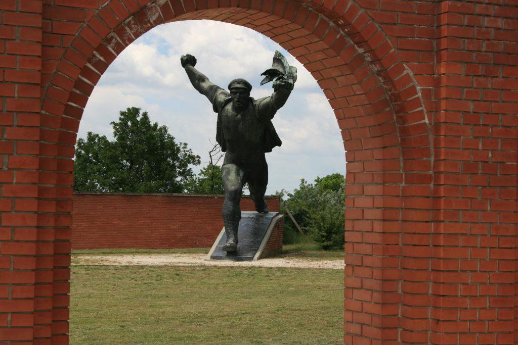 Städtereise Budapest - Statue im Memento Park.