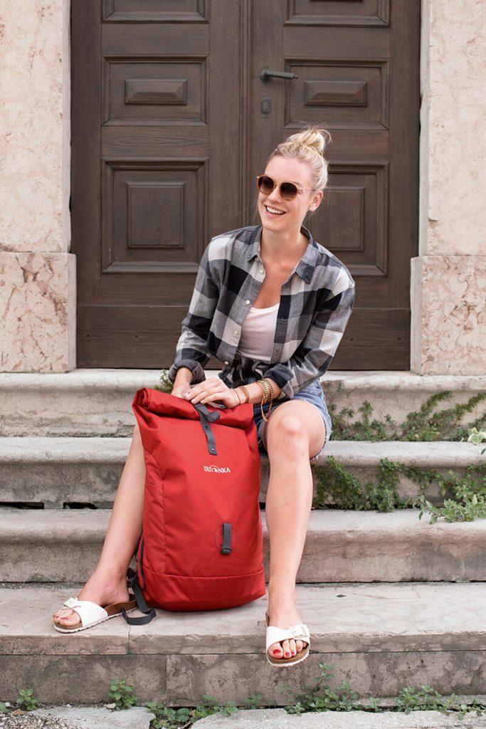 Städtereise Budapest: Ein Rucksack ist immer ein praktischer Begleiter.