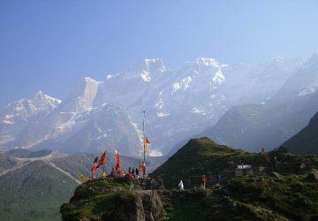Indien Trekking - Gebirgskette