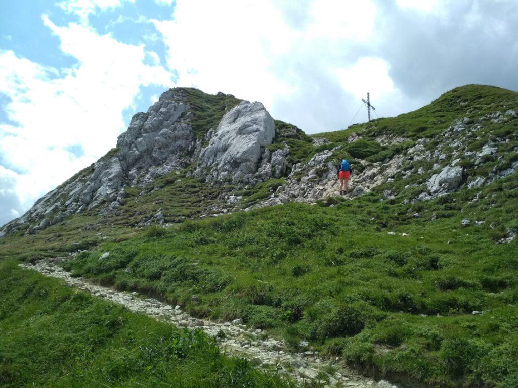 Gipfelkreuz der Roten Flüh