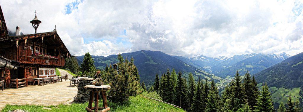 Hütte-Wandern
