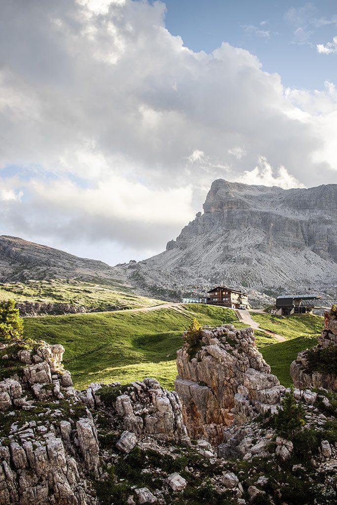 Kurzurlaub in den Dolomiten - Cinque Torri.