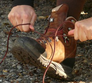 Lacing Hiking Boots correctly